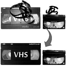 Video Kaset Onarım Hizmeti