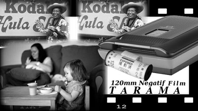 120 mm Negatif Film Tarama