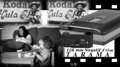 126 mm Negatif Film Tarama