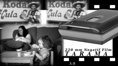 220 mm Negatif Film Tarama