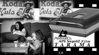 APS Negatif Film Tarama