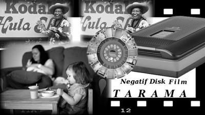 Negatif Disk Film Tarama