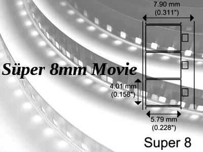 Süper 8mm Makara Film Aktarımı