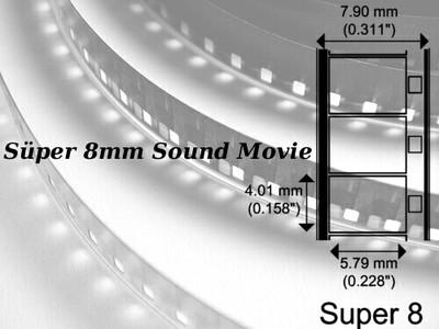 Süper 8mm Sesli Makara Film Aktarımı