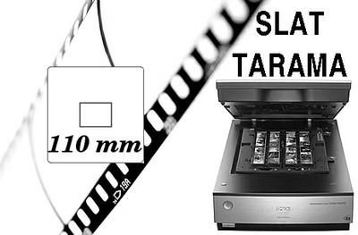 110 mm Slayt Tarama