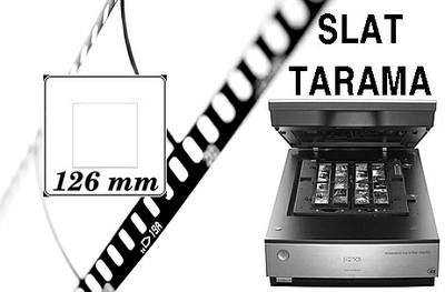 126 mm Slayt Tarama