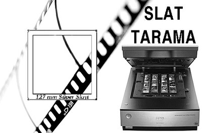 127 mm Süper Slayt Tarama