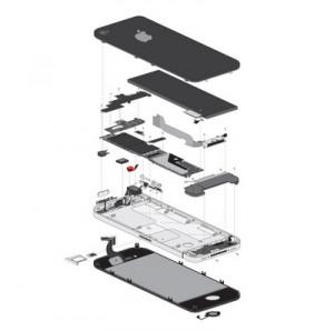 iphone 6 plus ön kamera ve sensörler-3